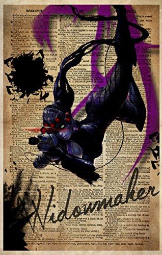 (Overwatch Widowmaker video game art print)