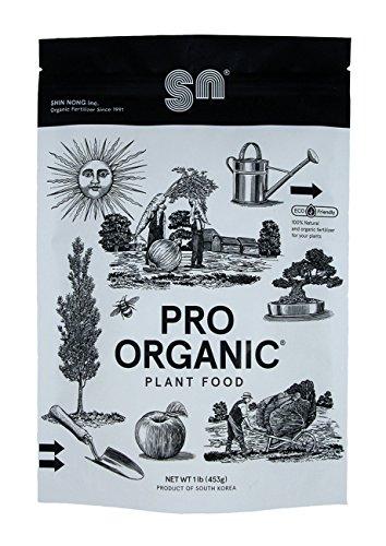 Shin Nong PRO ORGANIC All Purpose Fertilizer, 100% Organic, 1lb (Granular)