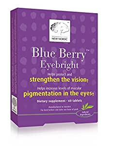 New Nordic Blue Berry Eyebright, Pack of 60