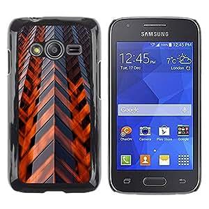 Be Good Phone Accessory // Dura Cáscara cubierta Protectora Caso Carcasa Funda de Protección para Samsung Galaxy Ace 4 G313 SM-G313F // Architecture Engineering Skyscraper