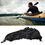 Tbest Kayak Sprayskirt Cover,Universal Nylon Marine Boat Canoe Kayak Splash Spray Skirt Deck Sprayskirt Waterproof Cover