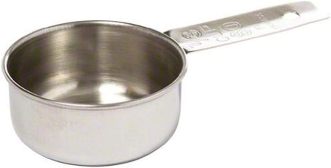 Tablecraft 1/3 Cup Stainless Steel Measuring Cup