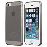(US) iPhone SE Case, iPhone 5s Case , Thinnest Cover Premium Ultra Thin Light Slim Minimal Anti-Scratch Protective - For Apple iPhone 5 / 5s / SE | totallee The Scarf (Light Grey)