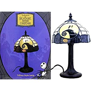 Tim Burton's The Nightmare Before Christmas Tiffany Style Lamp ...