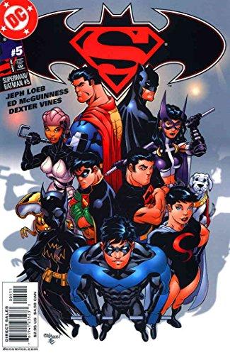 - Superman/Batman #5 VF/NM ; DC comic book