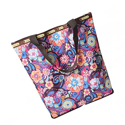 Ladies Cross Body Shoulder Bag Handbags Large Capacity Canvas Bags Multicolor for Women TOPUNDER B ()