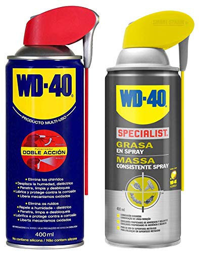 WD-40 - Lote Grasa WD40 Doble Accion 400 Ml + Specialist Grasa en Spray