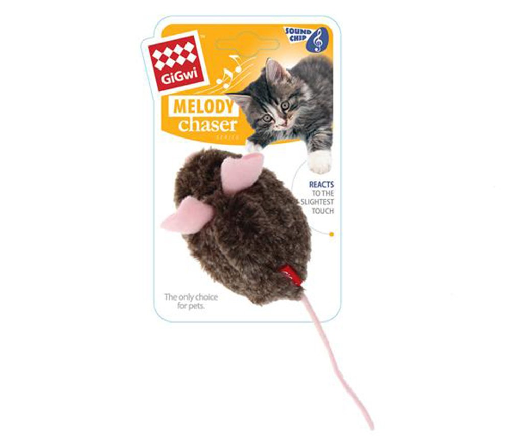 PetDroid Boltz Robotic Moving Automatic Mouse Cat Toy,Mouse Sound Chip Chaser Toy For Kitten,Updated 2018 by PetDroid (Image #1)