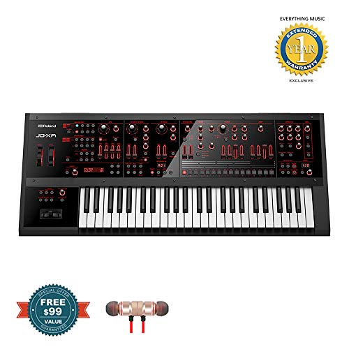 Roland JD-XA 49-key Analog/Digital Synthesizer includes Free Wireless Earbuds – Stereo Bluetooth In-ear and 1 Year Everything Music Extended Warranty