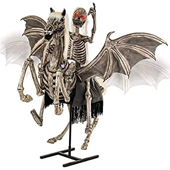 Animated Skeleton Dragon 48 INCHES LIGHTS /& SOUND L.E.D MUST MOVE-LOW PRICE