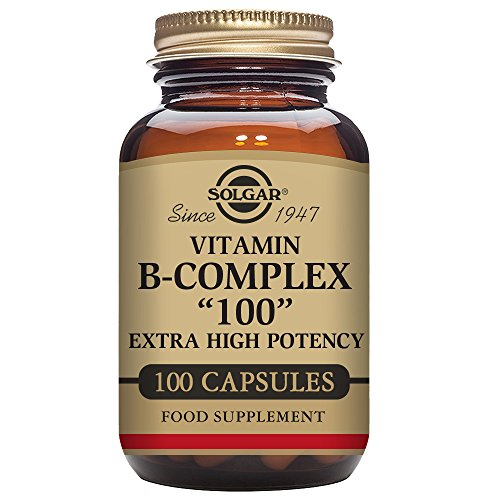 Solgar B Complex Vegetable Capsules Metabolism product image