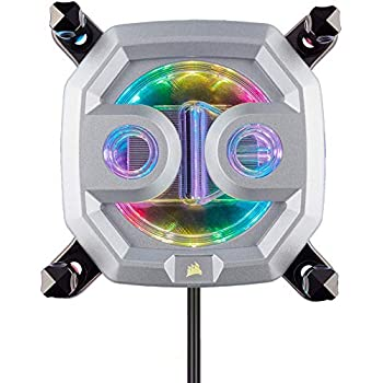 CORSAIR Hydro X Series,XC9 RGB CPU Water Block,16 Individually-addressable RGB LEDs,Software-Enabled,2066/sTR4