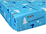 Disney Mickey Mouse Space Adventure Size Toddler (FITTED SHEET ONLY) Boy Girl Kid