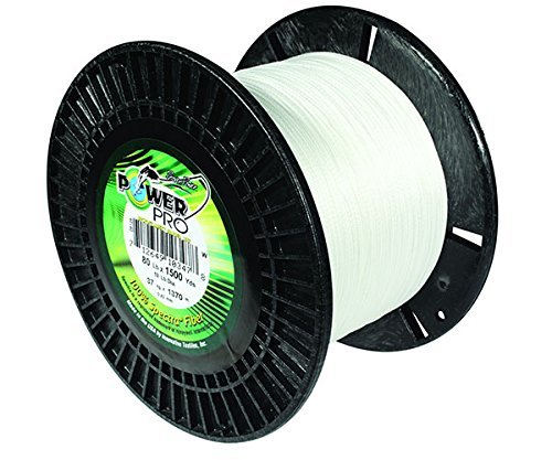 PowerPro Power Pro 21101503000W Braided Spectra Fiber Fishing Line, 150 Lb/3000 yd, White