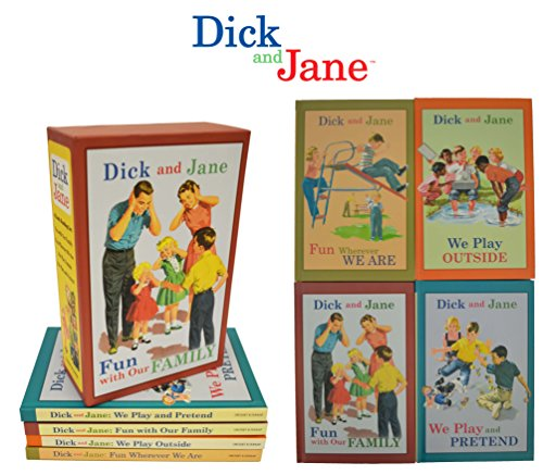 Dick and Jane 4 book boxed set