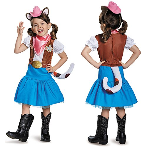Disguise Classic Sheriff Callie Disney Costume, Large/4-6X - Sheriff Callie Halloween Costume