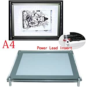 Ultra Thin LED Tattoo Tracing Graphing Light Box table -Size A4- Tattoo Supply - By Ta2MAX