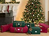 "Covermates Keepsakes 24"" Christmas Wreath Storage"