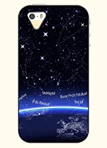 OOFIT Phone Case design with Constellation for Apple iPhone 4 4s 4g
