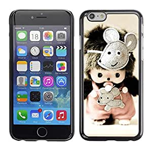 Cubierta de la caja de protección la piel dura para el Apple iPhone 6PLUS (5.7) - Bullseye Bulls Eye Match Target