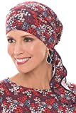 Cardani Easy On Pre Tied Head Scarf | Cancer