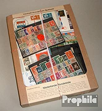 Prophila Países Bajos caja sorpresa No.. 72 también con Colonias (sellos para los