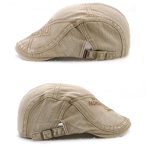 de edad sombreros Halloween algodón beanie Beige media hombres sombreros Navidad MASTER de marrón tapas sombreros Hombre vBqXEw