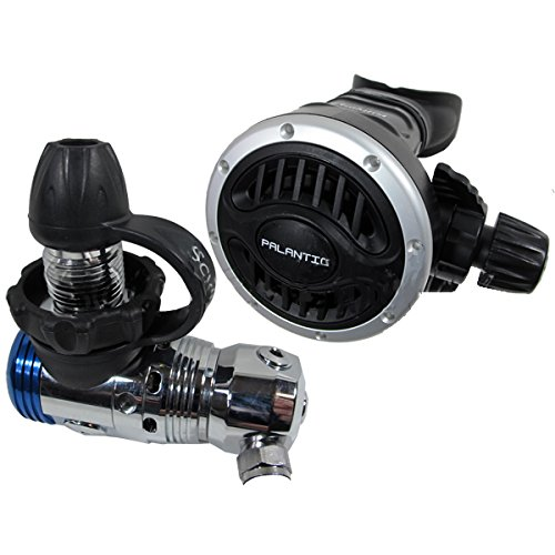 Scuba Choice Scuba Diving Palantic AS103 DIN Regulator Adjustable Second Stage with 27