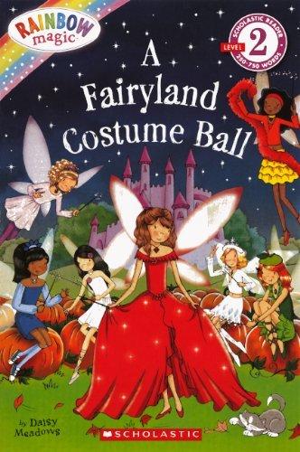 A Fairyland Costume Ball (Rainbow Magic (Pb)) [Library Binding] (Author) Daisy Meadows - Fairyland Costume