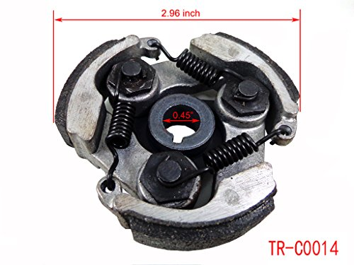 Clutch Pad with Spring for 2 Stroke 43cc 47cc 49cc Engine Scooter Pocket Dirt Bike ATV Mini Quad Chinese CAG MTA1 MTA2