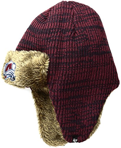 New Colorado Avalanche Nhl Cap (NHL Colorado Avalanche '47 Orca Sherpa Knit Beanie, One Size, Navy)