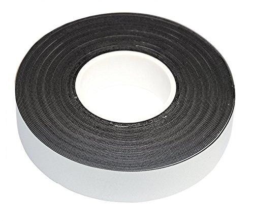 Yachting Tape selbstverschweißendes Klebeband schwarz oder weiß 10m x 19mm, Farbe:schwarz
