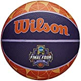 Wilson Sporting Goods WTB0797IDSM18 NCAA Women's Final Four Mini Rubber Basketball, Multicolor