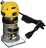 DEWALT DWP611 1.25 HP Max Torque Variable Speed Compact Router with Dual LEDs For Sale