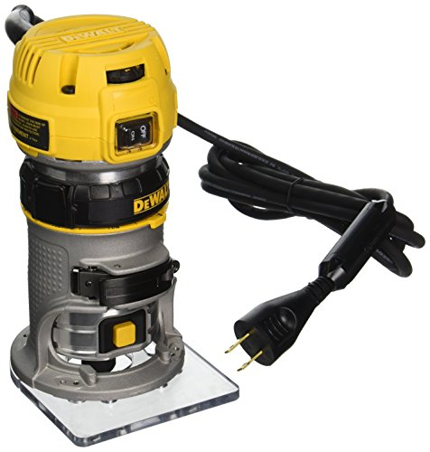 DEWALT DWP611 1.25 HP Max Torque Variable Speed Compact Router with Dual LEDs by DEWALT