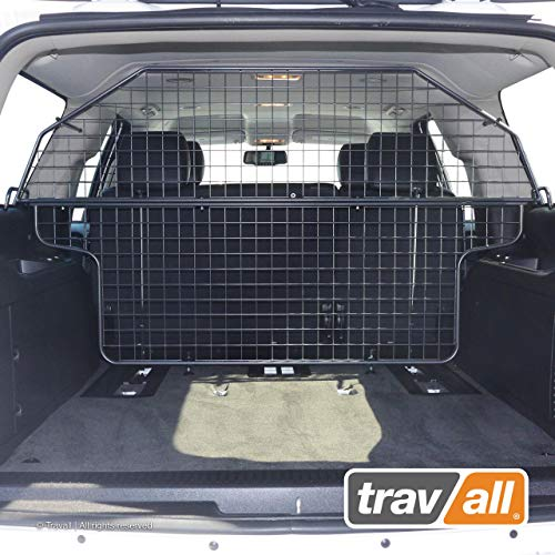 Travall Guard Compatible with Chevrolet Suburban (2006-2014) Also for GMC Yukon XL (2006-2014) TDG1433 - Rattle-Free Steel Pet Barrier