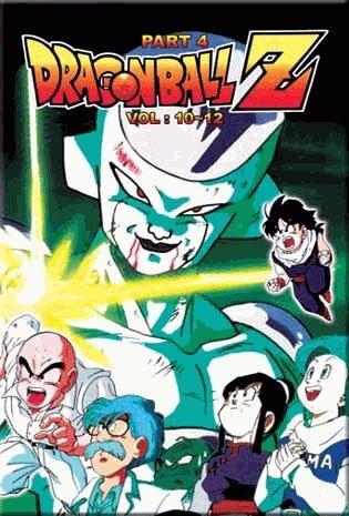 Dragon Ball Z - Part 4 Anime DVD English Dub