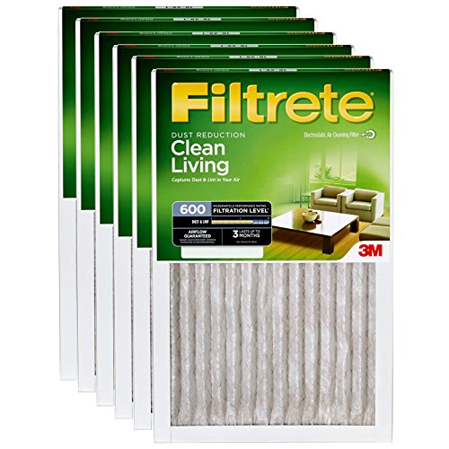 6 Filtrete Dust (12x20x1 3M Filtrete Dust and Pollen Filter (6-Pack))