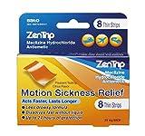 Zentrip Motion Sickness Relief Strips, 8Count