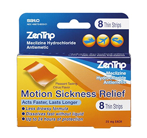 ZenTrip Sea Sickness Relief Strips, 8 Count