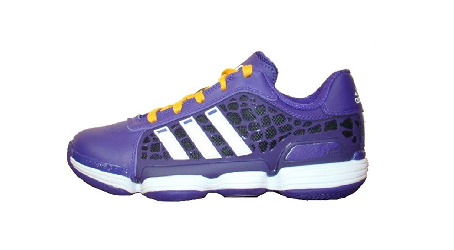 f6116807060d Amazon.com  Adidas Crazy Skin Low Sneaker Basketball shoes   indoor shoes  purple   white   orange  Shoes