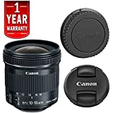 Canon EF-S 10-18mm f/4.5-5.6 IS STM Lens (Certified Refurbished)
