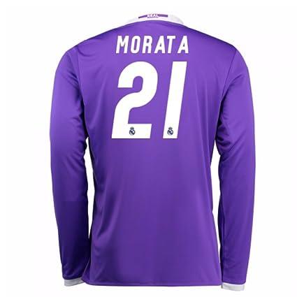 reputable site b85ee 0037e Amazon.com : 2016-17 Real Madrid Away Football Soccer T ...