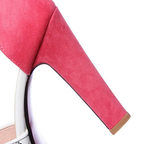 Imitated pelle motivo animali floreale in da stampa BalaMasa Pink donna 8wAaqxEOxY