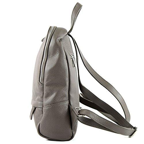 Beigegrau cuir dos Sac dos sac dos dames en cuir à en Citybag à T138 sac à sac wFqTqfUan
