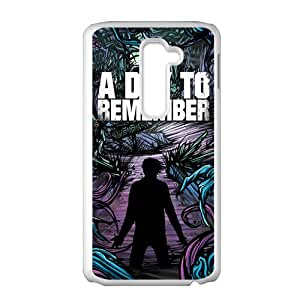 A Dat To Remember White LG G2 case