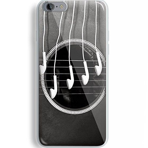 Guitar Wallpaper for iPhone and Samsung Galaxy Case (iPhone 6/6s white)