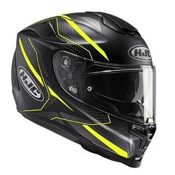 HJC casco para moto RPHA 70 Dipol MC4HSF, negro/amarillo