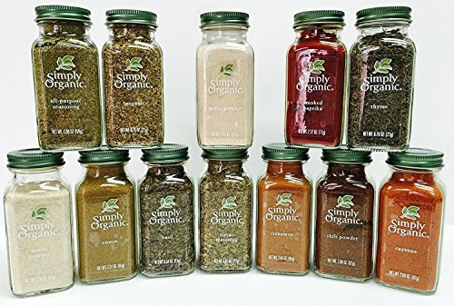 Simply Organic Gourmet Starter 12 Spices Gift Set by Simply Organic
