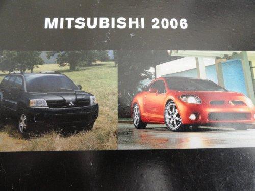 2006 Mitsubishi Galant / Lancer / Raider / Montero / Endeavor / Outlander / Eclipse Sales Brochure (2006 Mitsubishi Eclipse For Sale By Owner)